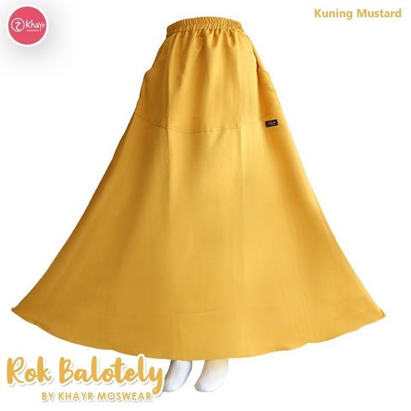 Rok Balotely Kuning Mustard