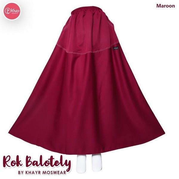 Rok Balotely Maroon (Harga Lama)